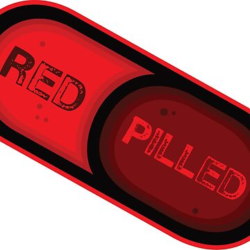 Red Pill(Capsule) by lewisliberman