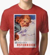 Winter delights in Austria Tri-blend T-Shirt
