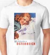 Winter delights in Austria Unisex T-Shirt