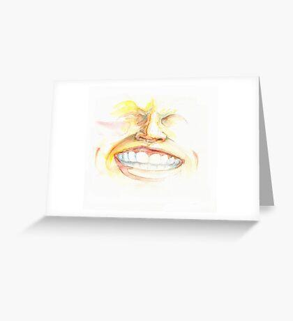 CHEESE! Greeting Card