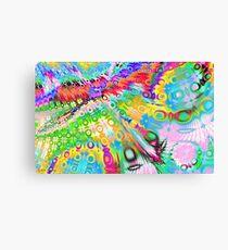 Tie Dye Rainbow Canvas Print