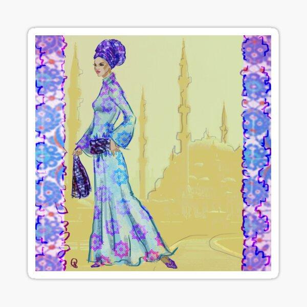 Hijabista Istanbul Style Sticker
