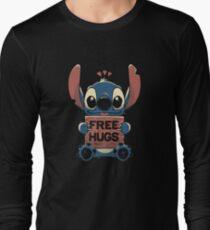 Free Hugs Stitch Long Sleeve T-Shirt