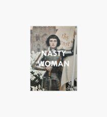Nasty Woman: Jeanne D'arc  Art Board