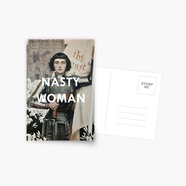 Nasty Woman: Jeanne D'arc  Postcard