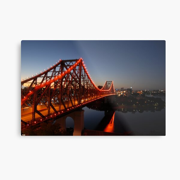 Story Bridge, Early Morning - Brisbane Metal Print