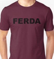FERDA- LETTER Slim Fit T-Shirt