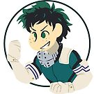 Deku - Boku No Hero Academia by tonguetiedart