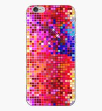 Metallic Colorful Sequins Look-Disco BallGlitterPattern  iPhone Case
