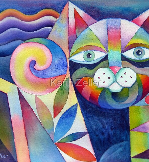 Geometricat 2 by Karin Zeller