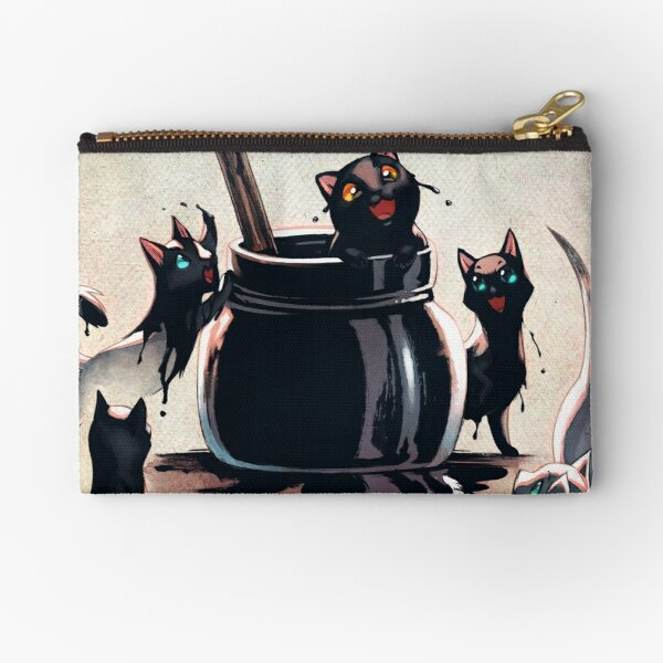 How Black Cats Are Made Zipper Pouch