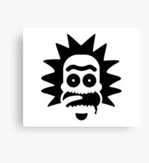 Rick Portrait Logo Canvas Print