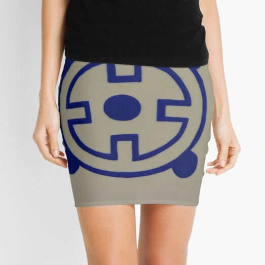#blue #material #znamensk #sign text symbol illustration vector number logo design colorimage Mini Skirt
