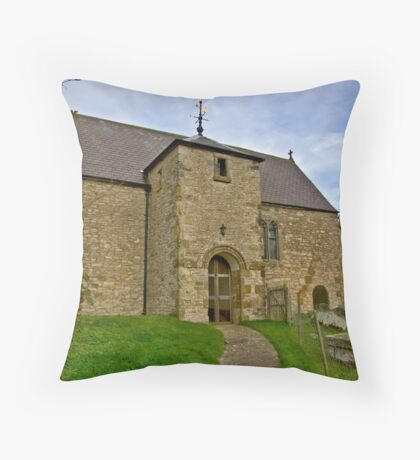 All Saints Church - Old Byland Throw Pillow