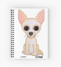 "The Puppy! Collection ""Luna"" Spiral Notebook"