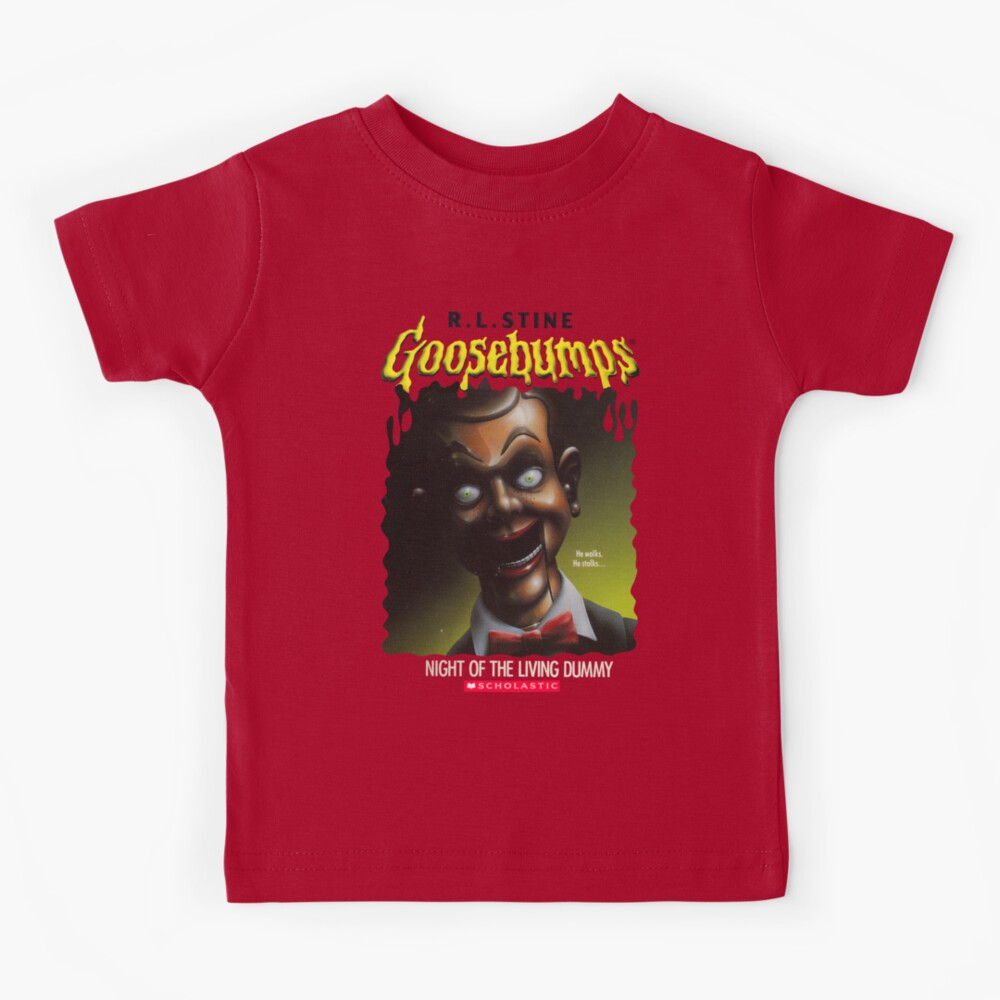 Goosebumps - Night of The Living Dummy Kids T-Shirt