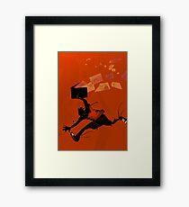 Fly ideas, fly! Framed Print