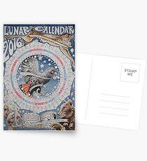 Mondkalender 2016 Postkarten