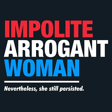 Impolite Arrogant Woman by fishbiscuit