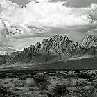 Clouds Over The Organ Mountains by Larry Costales