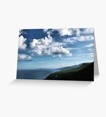 Blown Wide Open Greeting Card