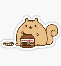 nutella bear Sticker
