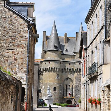 Small Castle in Vitre by funkydive