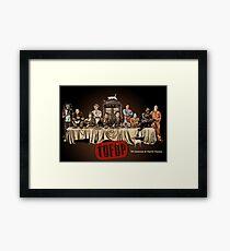 TOFOP- Last Supper Framed Print