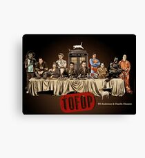 TOFOP- Last Supper Canvas Print