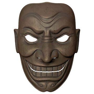 Freaky Samurai Mask #1 by cadcamcaefea