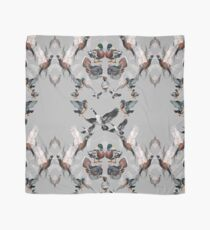 Duck & Up, Bird! Print Watercolor Illustrations Scarf