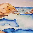 Elephant rocks, Greens pool WA by Picatso