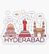 Hyderabad, India Sticker
