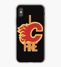 """I See Fire """"C"""" of Red iPhone Case"""