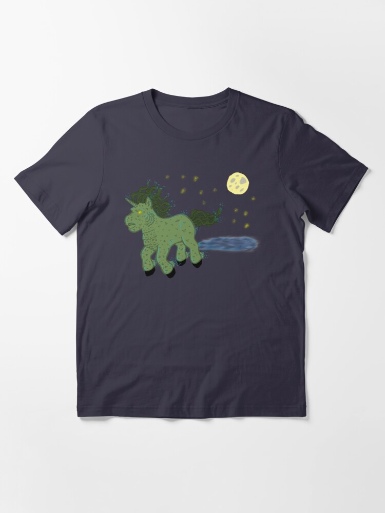 Alternate view of Horror Movie Unicorns: Lagoon Creature Essential T-Shirt