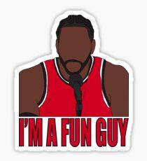 """Kawhi Leonard """"Ich bin ein lustiger Typ"""" Sticker"""