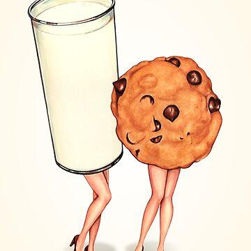 Milk & Cookie Girls by KellyGilleran