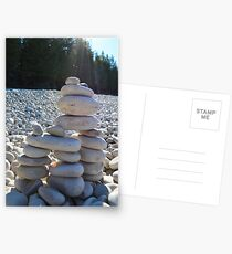 Cairn #2.  Because Andy Goldsworthy rocks (see what I did there?) Postcards
