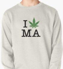 I [weed] Massachusetts Pullover