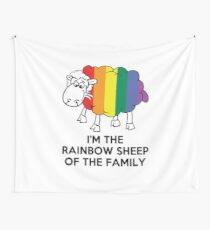 I'm The Rainbow Sheep Of The Family T-Shirt Wall Tapestry