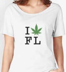 I [weed] Florida Women's Relaxed Fit T-Shirt