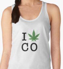 I [weed] Colorado Women's Tank Top