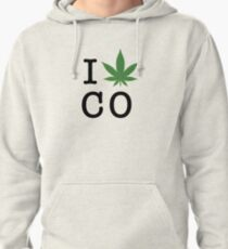 I [weed] Colorado Pullover Hoodie