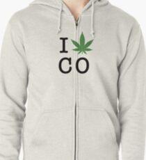 I [weed] Colorado Zipped Hoodie