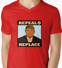 Repeal and Replace Men's V-Neck T-Shirt
