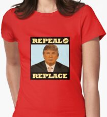 Repeal and Replace Women's Fitted T-Shirt