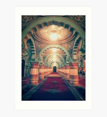 Darbar Hall (Mysore Palace) Art Print