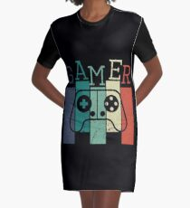 Gamer Graphic T-Shirt Dress
