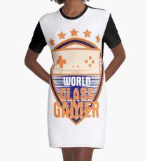 World Class Gamer Graphic T-Shirt Dress