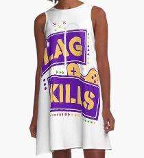 Lag kills A-Line Dress